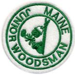 Junior Maine Woodsman Patch