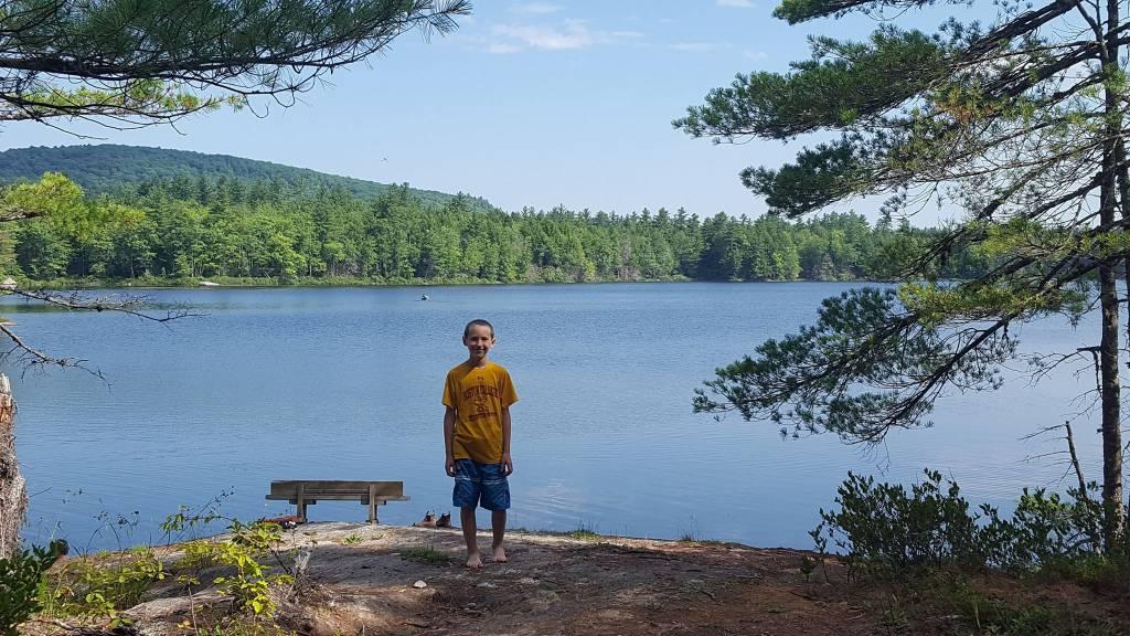 Ellis Pond Visit at Camp Forest