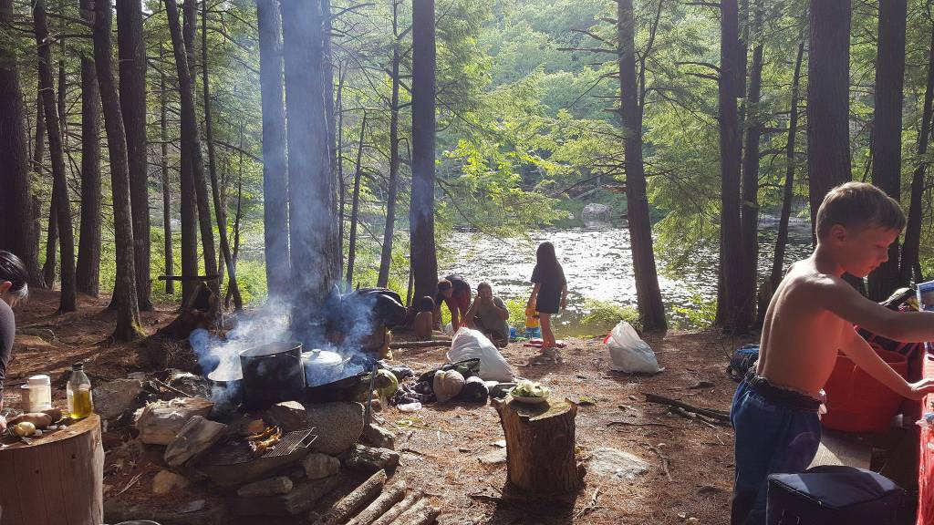 Ellis Pond Encampment