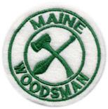 Maine Woodsman Patch
